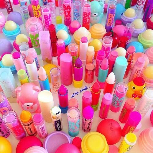 色つきリップで学校に行こう♪きれいな唇になれる色つきリップ♡
