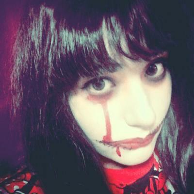【ホラー注意】ハロウィンイベントで使える口裂け女メイク