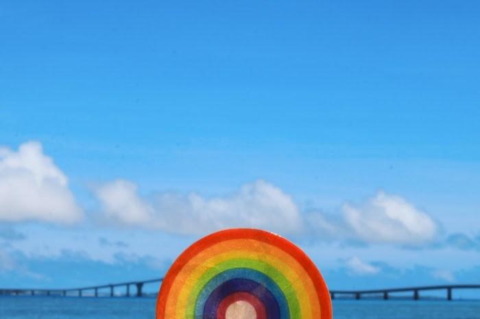 カラフル 虹
