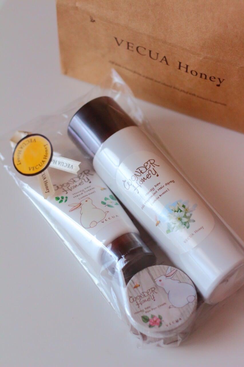 おみやげにVECUA Honeyの商品をプレゼント