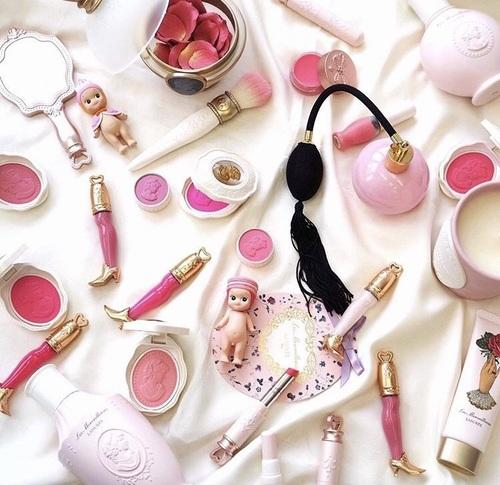 ピンクメイク