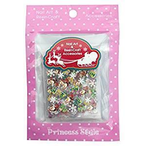 プリンセススタイル クリスマス ネイルシール