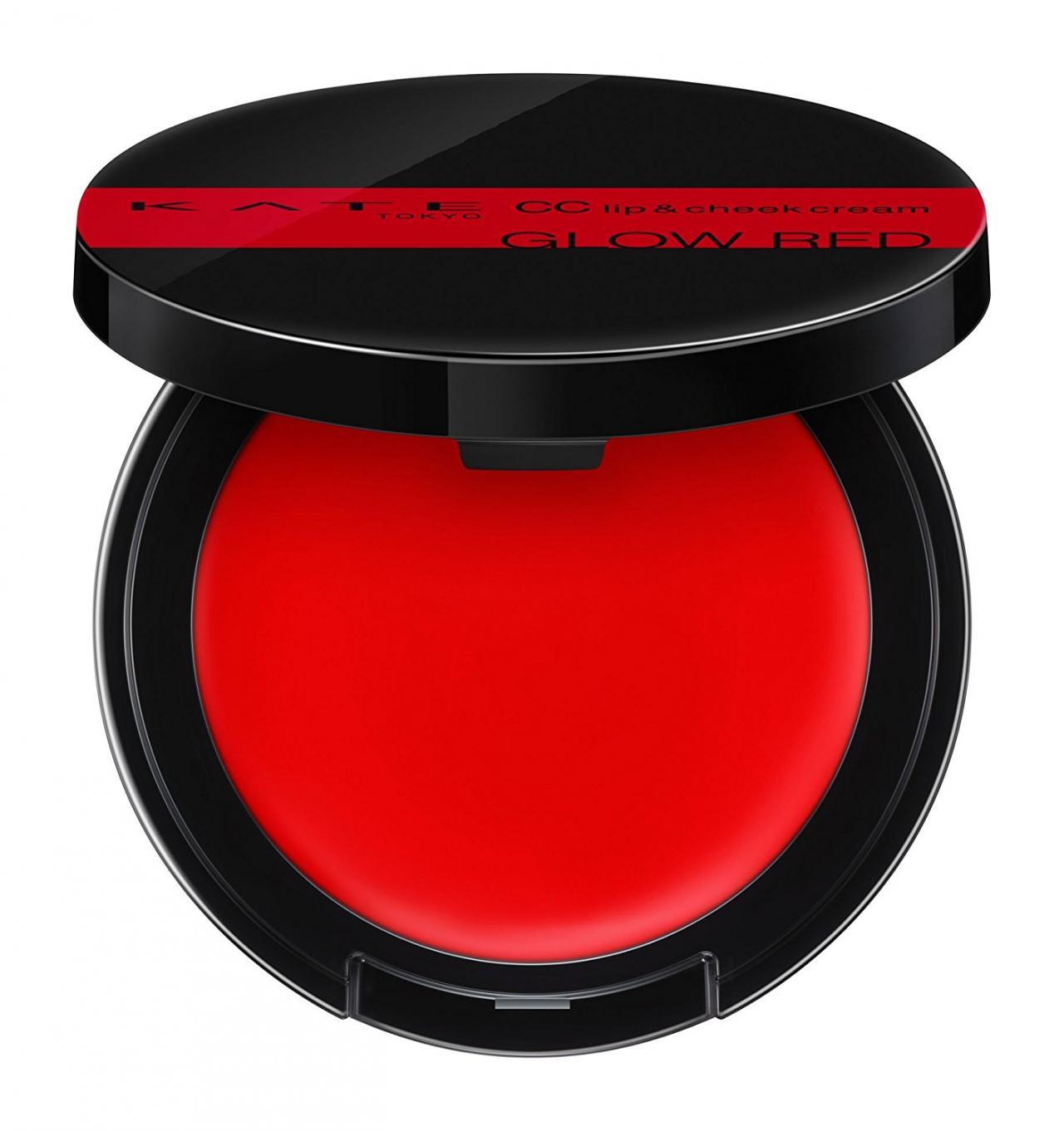 ケイト CCリップ&チーククリームN 01 GLOW RED