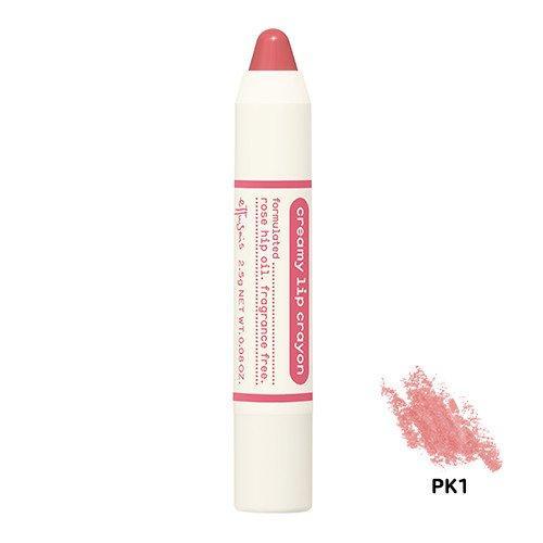 エテュセ クリーミークレヨンリップ PK1(薄いピンク)