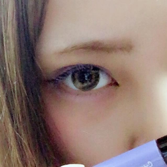 紫マスカラ