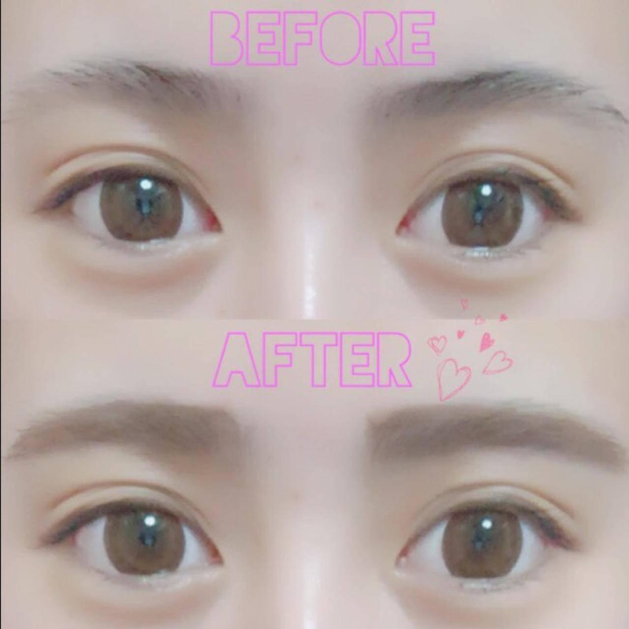 優しい眉毛の作り方