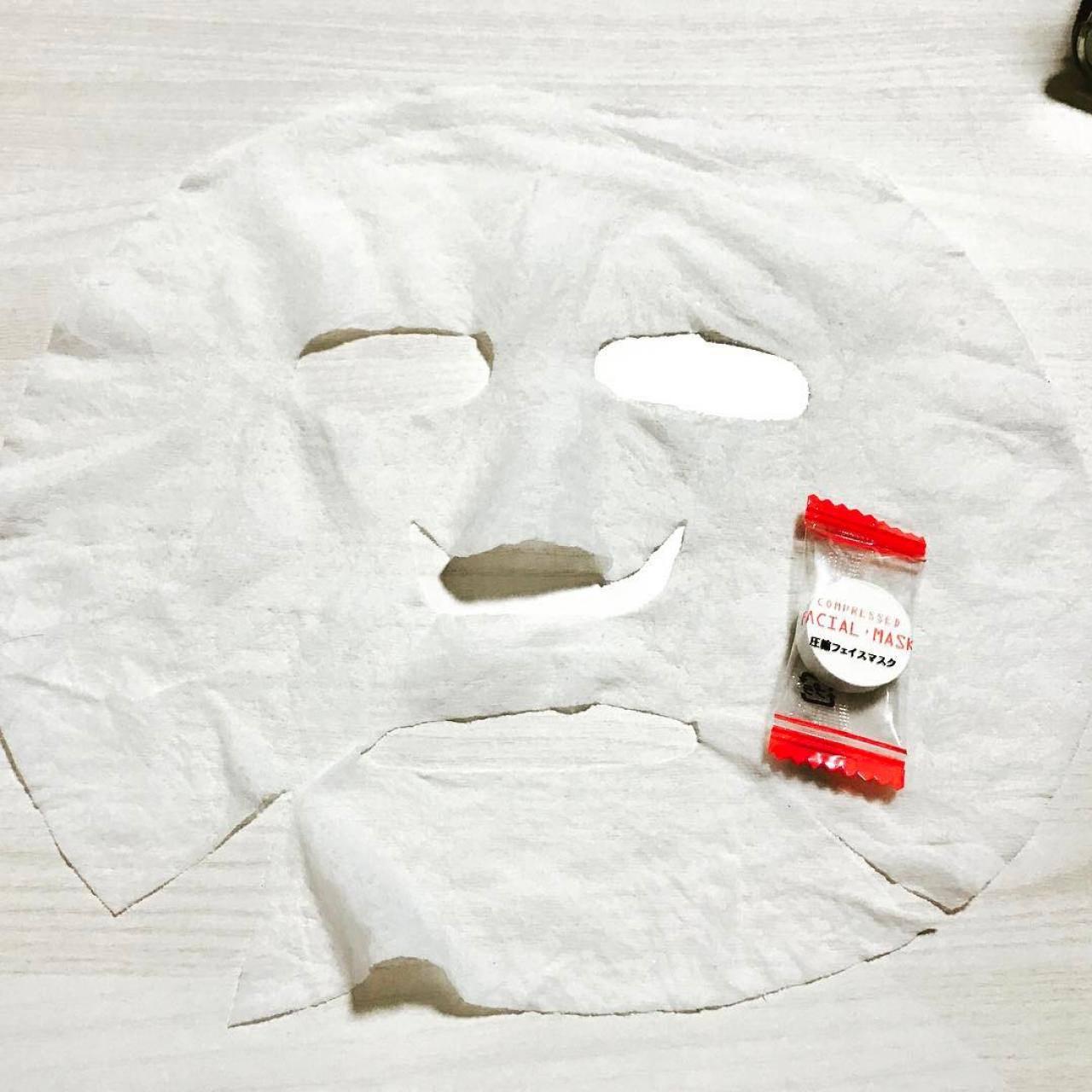 100均 100円均一ショップ 人気 おすすめ 口コミ 便利 コスパ プチプラ 安い 美容グッズ 使える ダイソー DAISO 圧縮タイプ フェイスマスク 保湿
