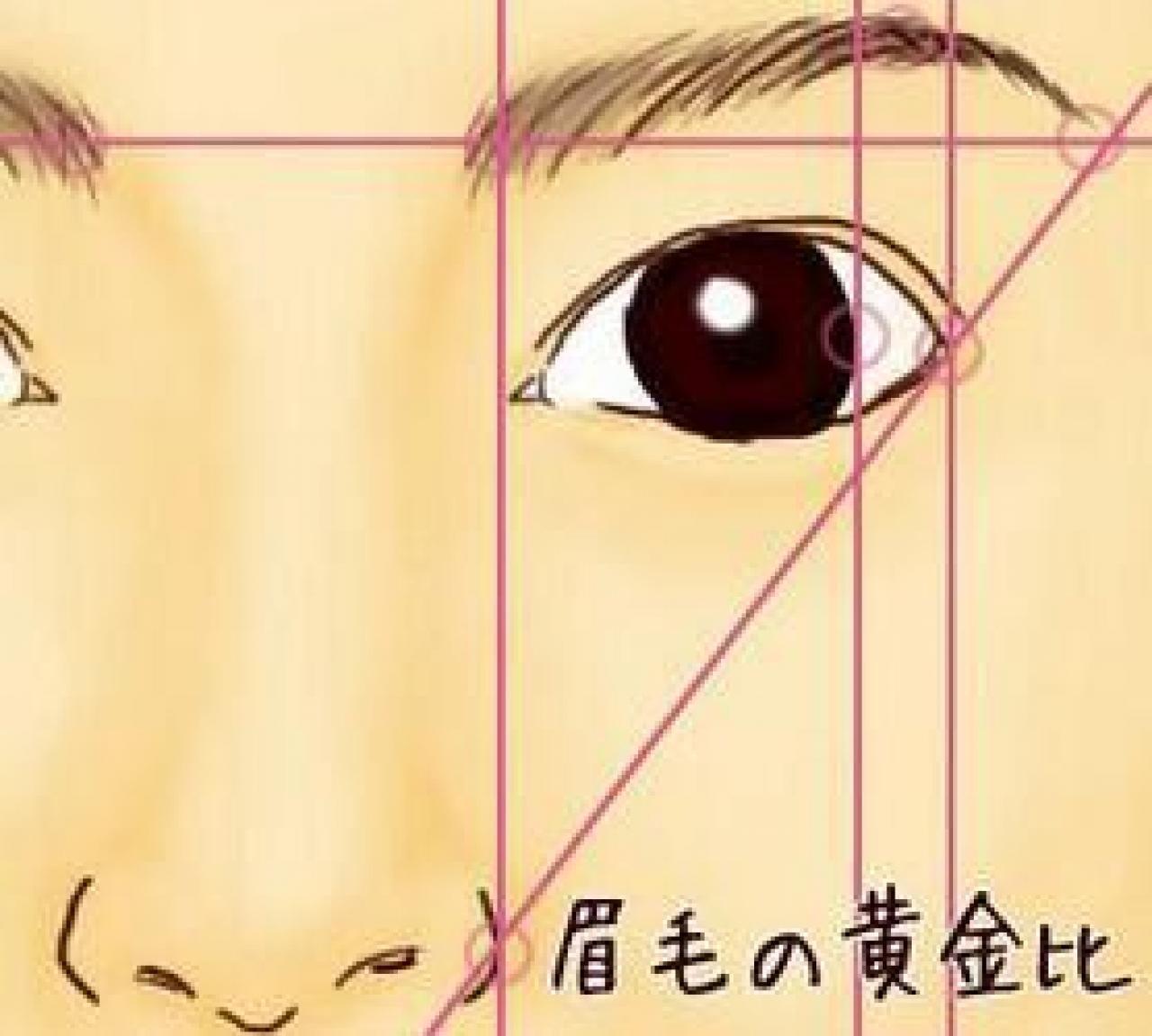 眉カットのやり方