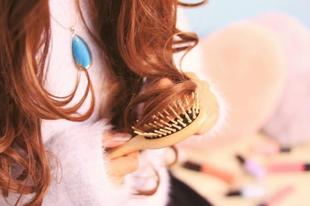 前髪のべたつき防止