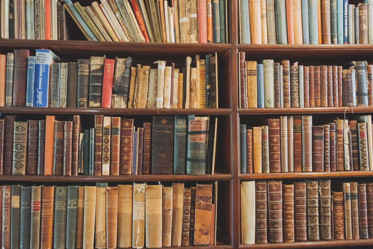 洋書 本棚