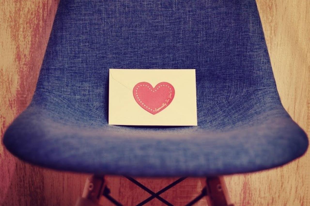 椅子 ラブレター