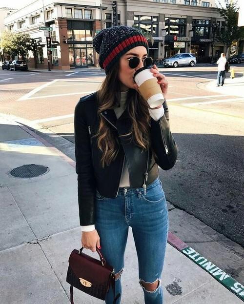クールなモードファッション