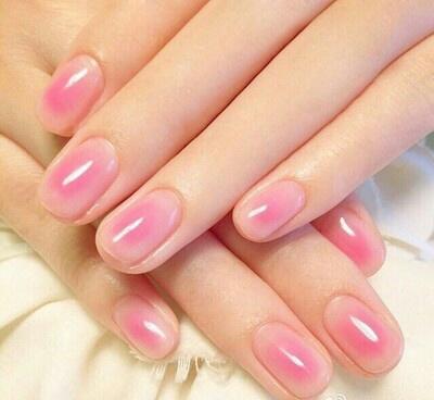 ネイル pink