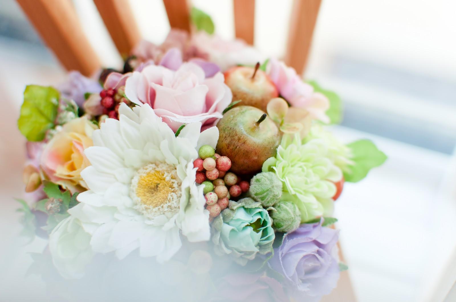 ガーリー 造花