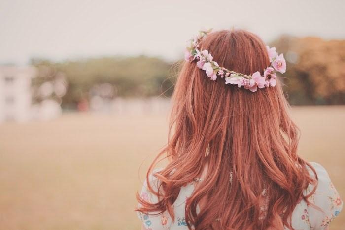 女の子 花冠