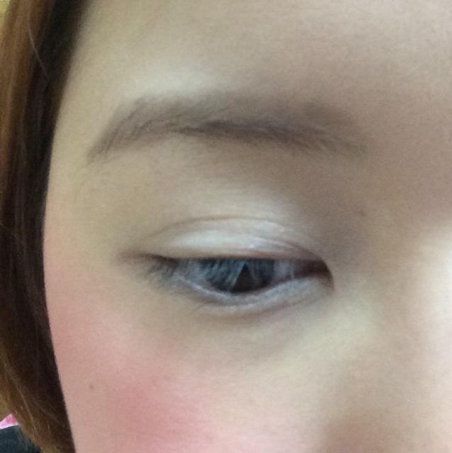 腫れ目な日のアイメイク(°_°)泣き過ぎた次の日に〜のBefore画像