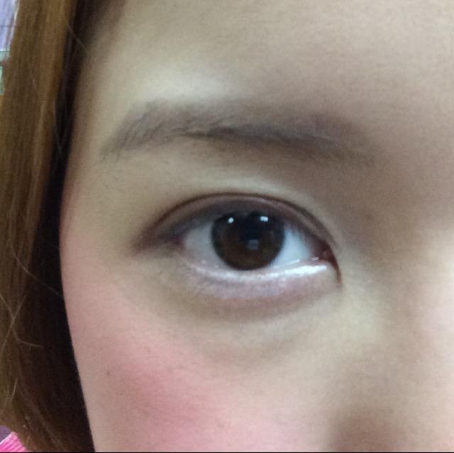 目を開くとこんな感じ。かなり濃いめで大丈夫です!