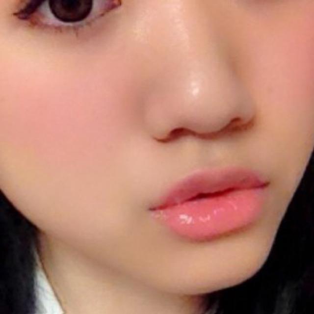 キスしたくなる唇♡笑のBefore画像