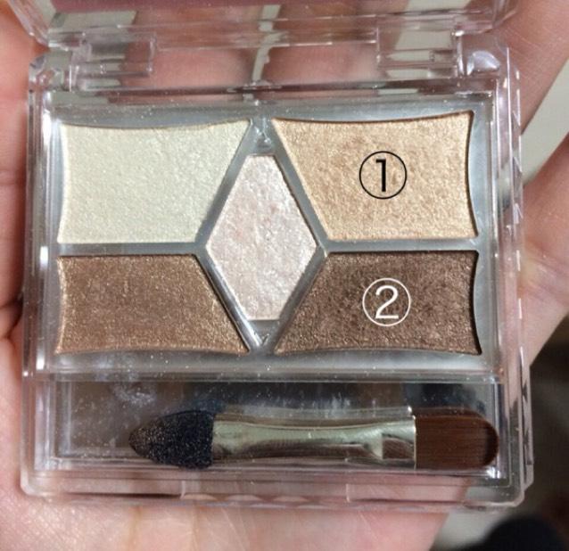 使用①②的兩種顏色。