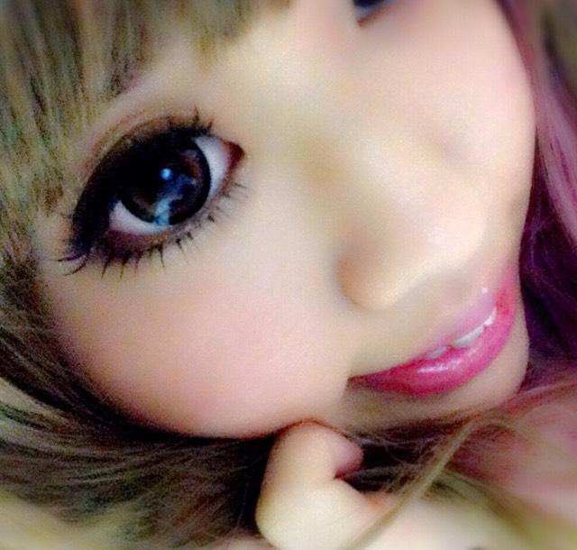 お人形メイクのAfter画像