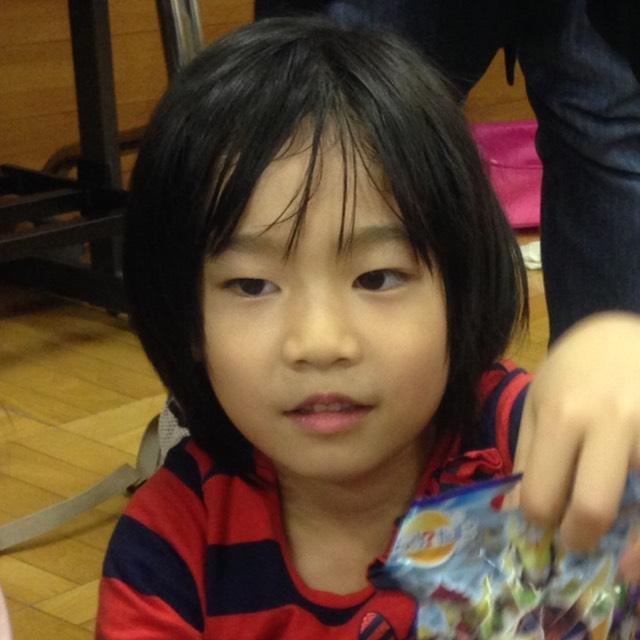 ショートヘアの日本髪風アレンジ のBefore画像