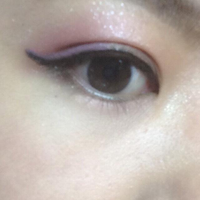 【ピンク×紫】涼しげカラーメイクのAfter画像