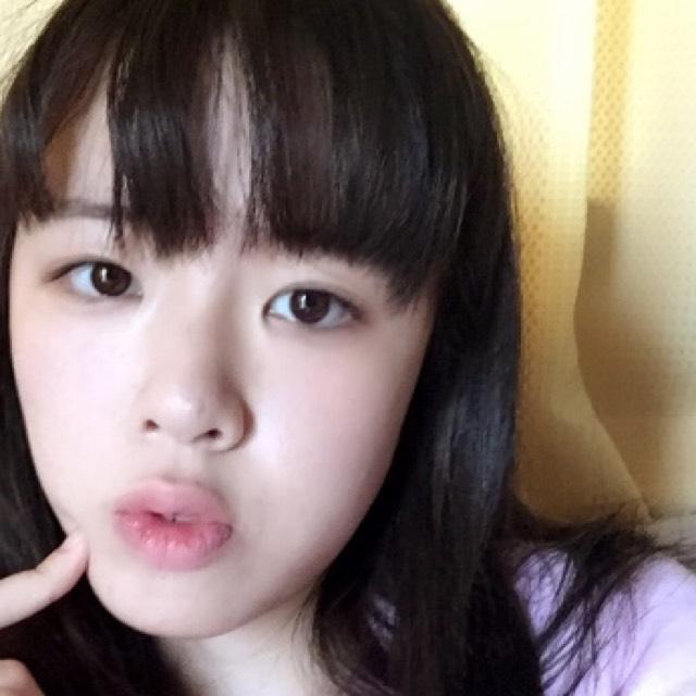 韓国の色白少女風メイクのAfter画像