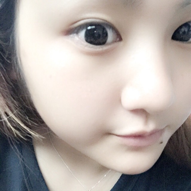 デカ目♡涙袋♡濃ゆいメイク♡のBefore画像