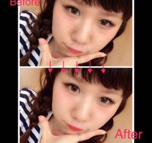 Before、Afterです!