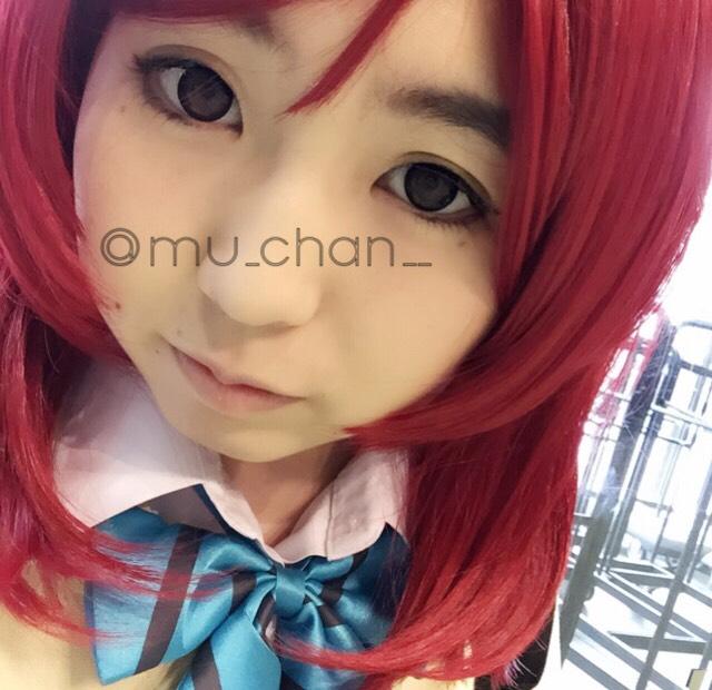 ラブライブ西木野真姫風メイクのAfter画像