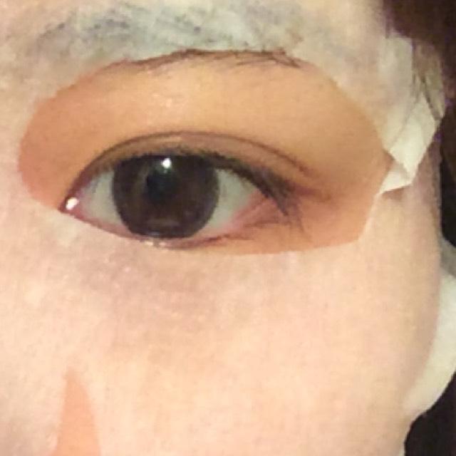 裸眼で100均ピンクメイクのBefore画像