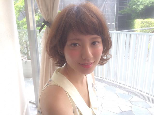 オンザ前髪×血色メイク♡のAfter画像