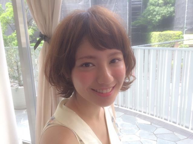 オンザ前髪×血色メイク♡