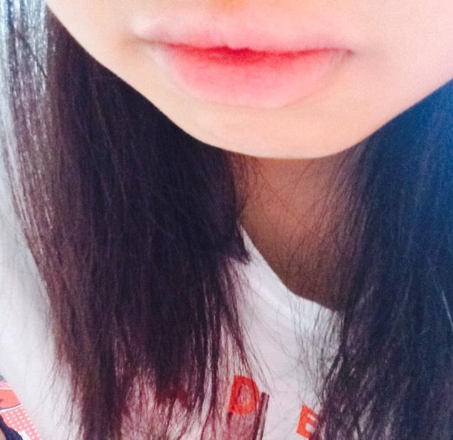 ティント風唇 のAfter画像