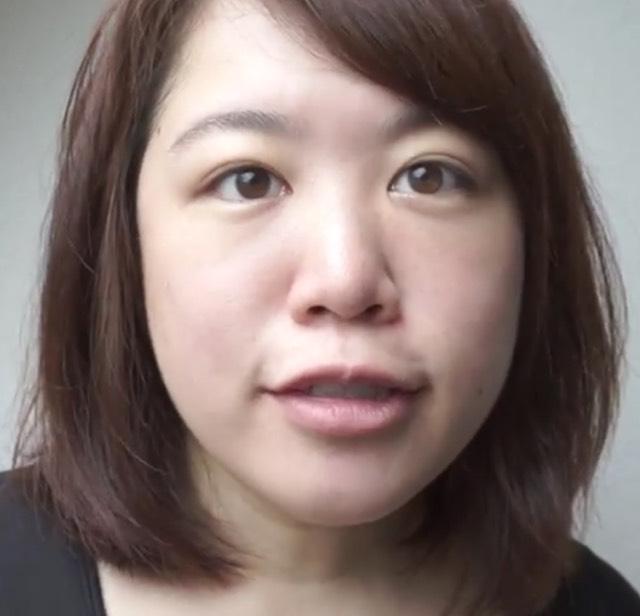 メガネっ子☆かんたんカラーライナーメイク!のBefore画像