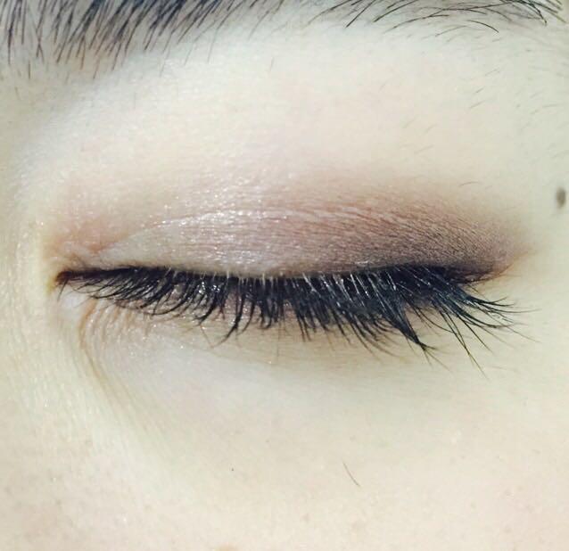目尻から黒目の上までMalibu/ブラウン
