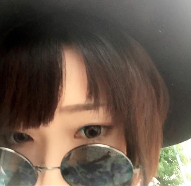 ロリ風メイクのBefore画像