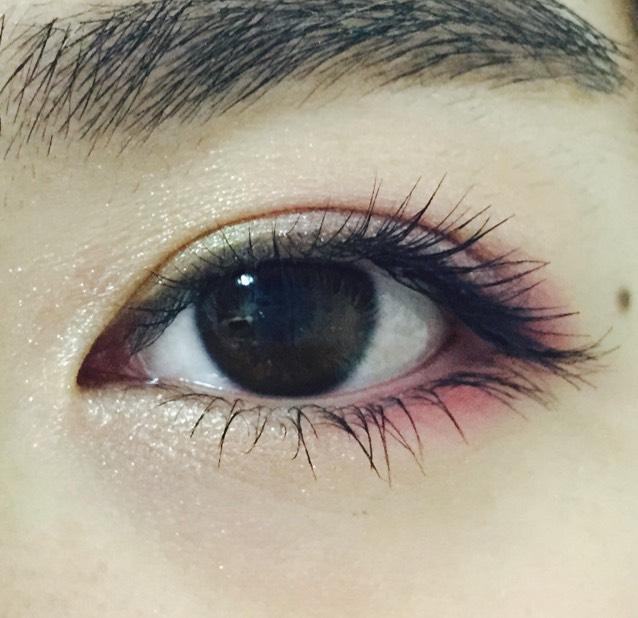 夏カラーメイク パープルピンクのAfter画像