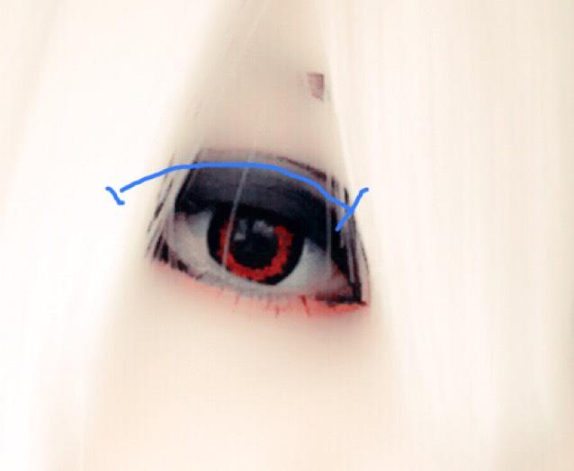 中性赤メイクの3枚目の画像