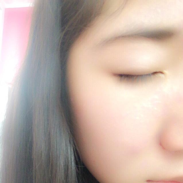 。・:+°初心者  タレ目ぷっくり涙袋アイメイクのBefore画像