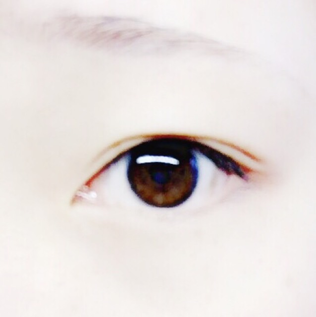 フェスメイク✨  ※目だけですみませんのBefore画像
