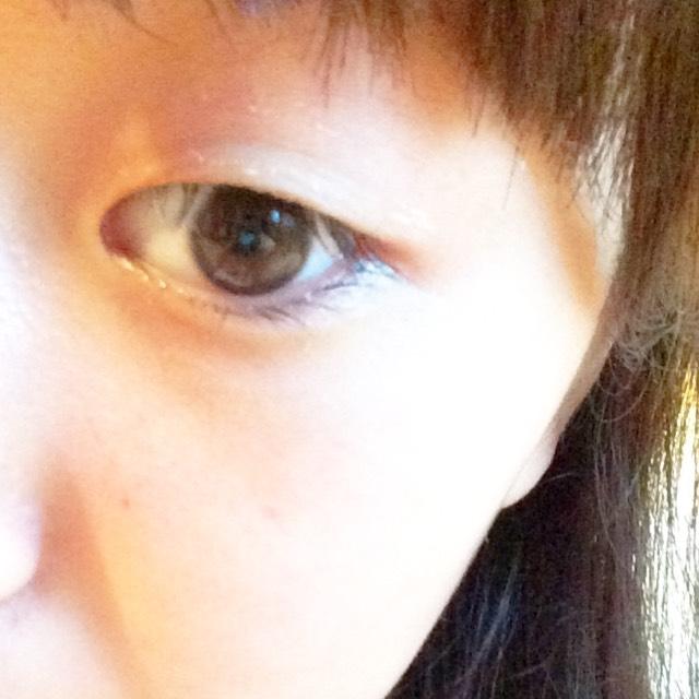 スッピン→半顏→完成のBefore画像