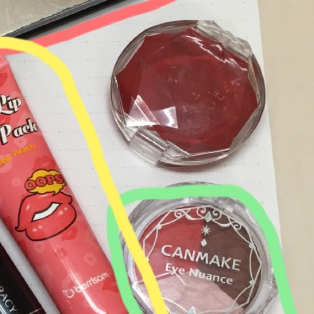 チークはキャンメイクの練チークを愛用してます。伸びもいいし、リップにも使えます!発色もいいです♡