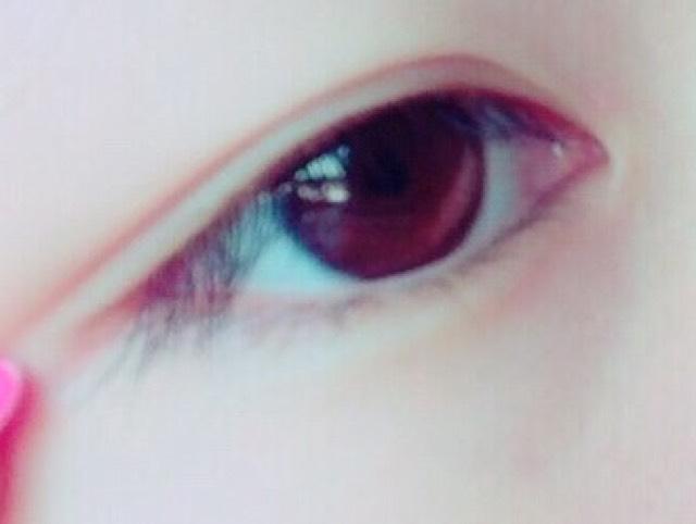 ドファサルメイク(仮) 赤を使ったメイクのBefore画像
