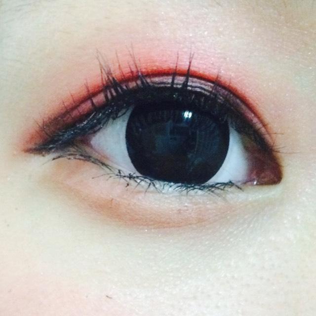 ドファサルメイク(仮) 赤を使ったメイクのAfter画像