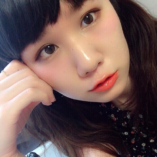 丸目×オレンジリップ