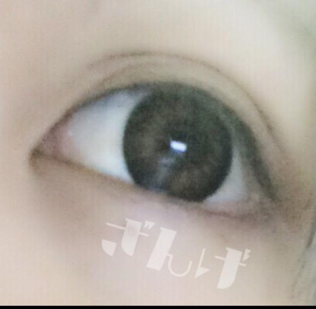♡丸目メイクのBefore画像