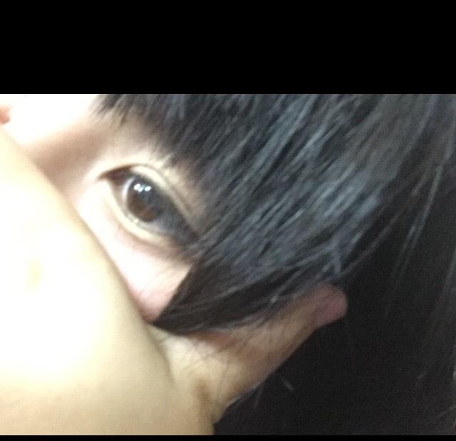 中村里砂ちゃん風メイクのBefore画像
