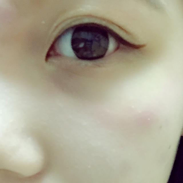 片目はこんな感じ