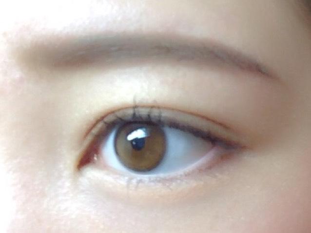 自然な眉毛の描き方のAfter画像